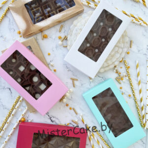 Коробочки для шоколадной плитки